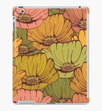 Vintage poppy flowers iPad-Hülle & Skin