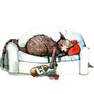 Cat nip nap by Nicholas  Beckett