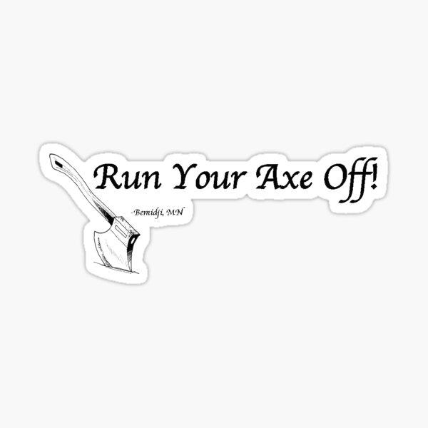 Bemidji Blue Ox Marathon Sticker