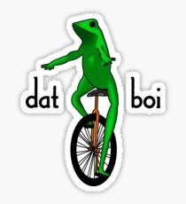 Dat Boi Meme V.2 Sticker