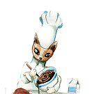 Chef Cat by Nicholas  Beckett