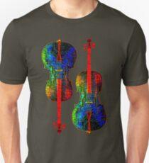 Camiseta ajustada Colores de violonchelo