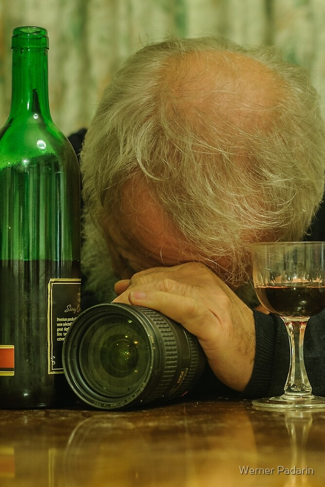 My Lens and I and a Red by Werner Padarin