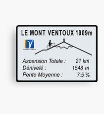 Mont Ventoux Radfahren Leinwanddruck