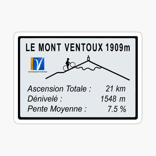 Mont Ventoux en vélo Sticker