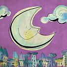 Moon - purple by catru