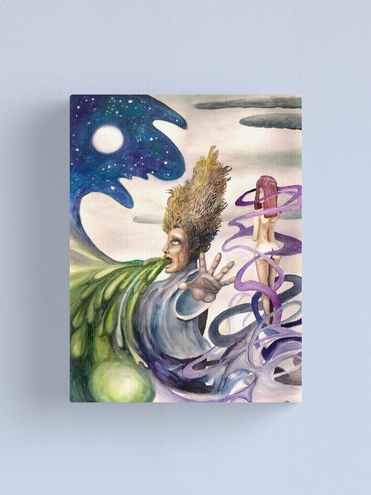 Alternate view of Full Moon Canvas Print