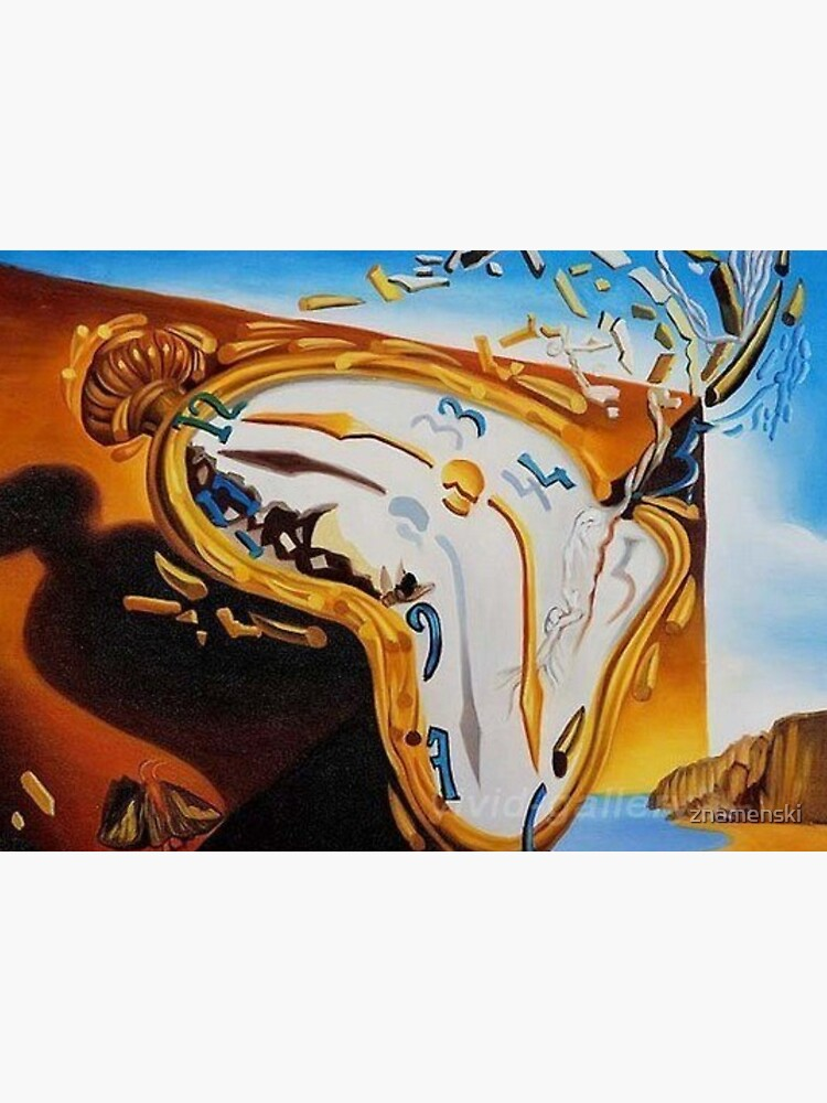 "Fragment of Surrealistic Painting by Salvador Dali ""Constancy of Memory"". Фрагмент сюрреалистической картины С.Дали «Постоянство памяти» (1931 г) by znamenski"