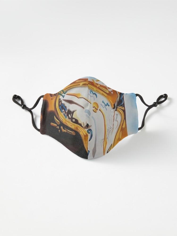 "Alternate view of Fragment of Surrealistic Painting by Salvador Dali ""Constancy of Memory"". Фрагмент сюрреалистической картины С.Дали «Постоянство памяти» (1931 г) Mask"