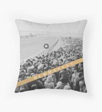 NEWMARKET RACECOURSE Throw Pillow