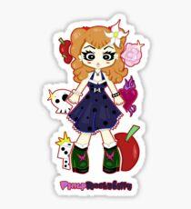 Pinup Rockabilly by Lolita Tequila Sticker