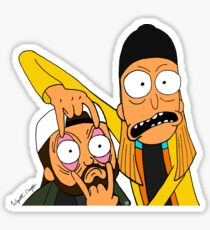 Jay and Silent Bob Sticker