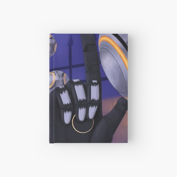Spooky Robot Uncle Hardcover Journal