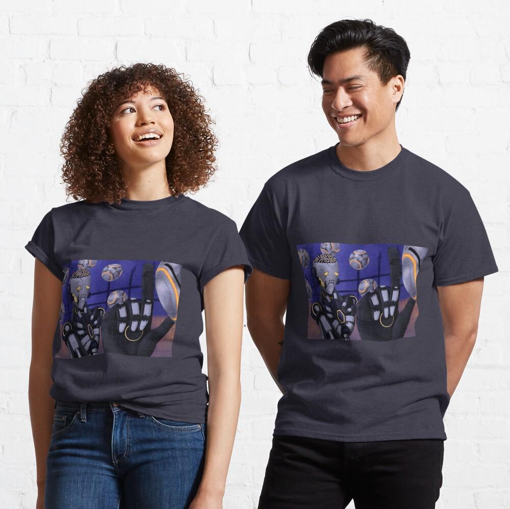 Spooky Robot Uncle Classic T-Shirt