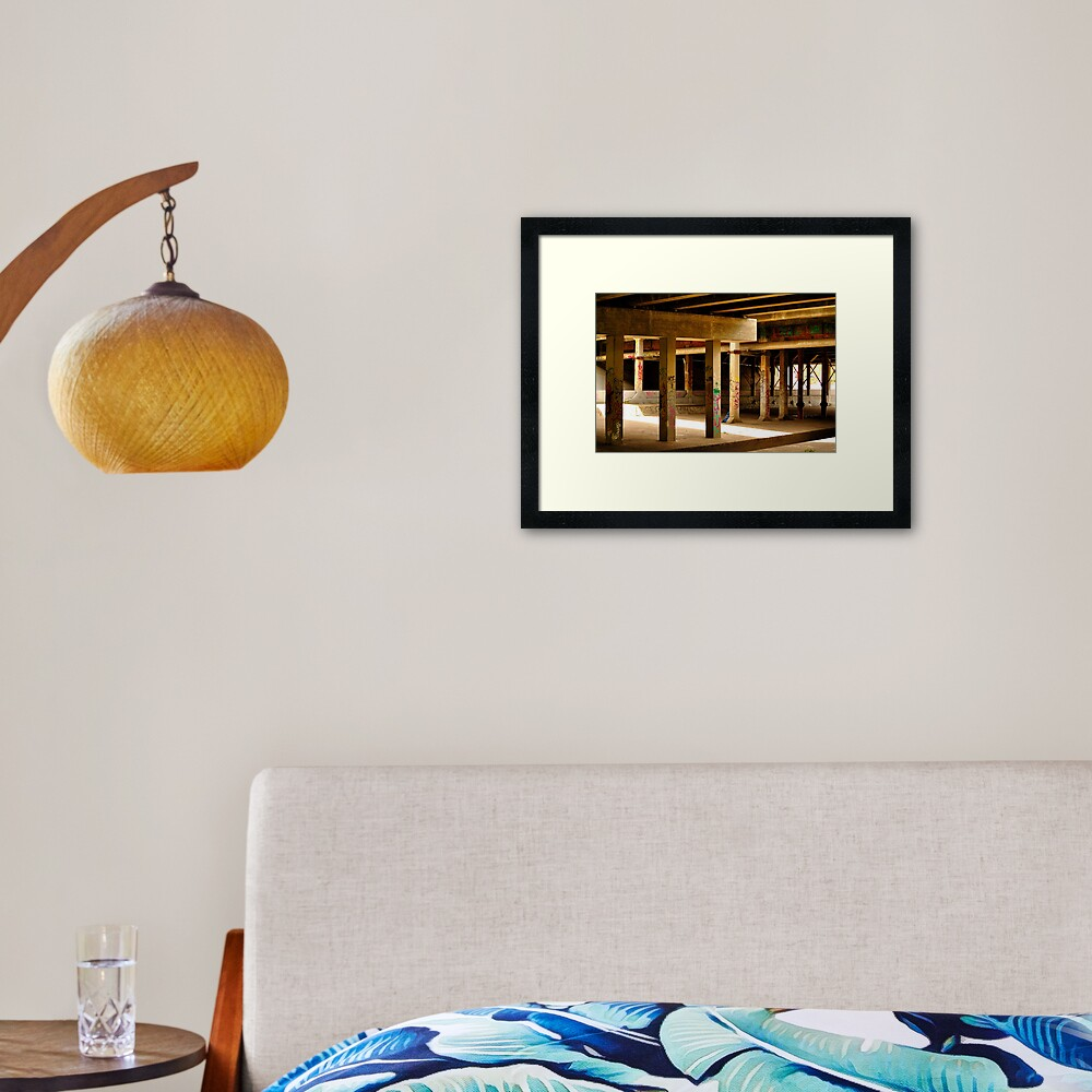 Moonee Ponds Creek Framed Art Print