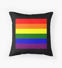 Gay pride Flag Throw Pillow