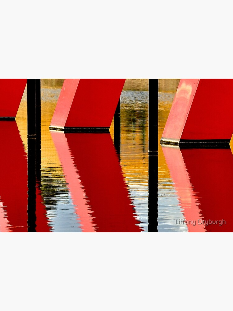 Red Reflections by Tiffany