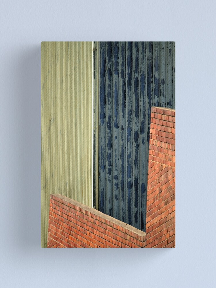 Alternate view of Shapes & Lines Canvas Print