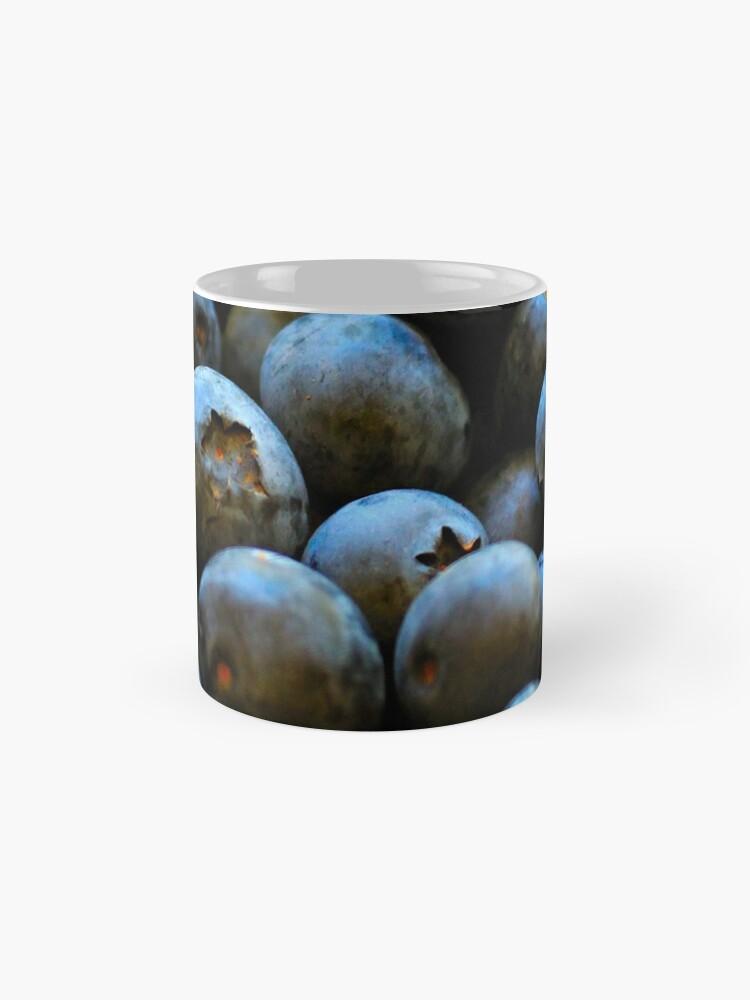 Alternate view of Blueberries Mug