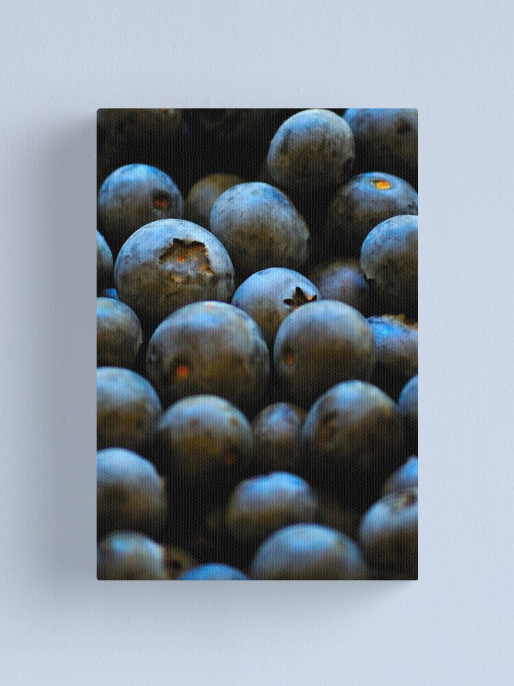 Alternate view of Blueberries Canvas Print