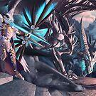 Slaying Sindra by EchoesLight