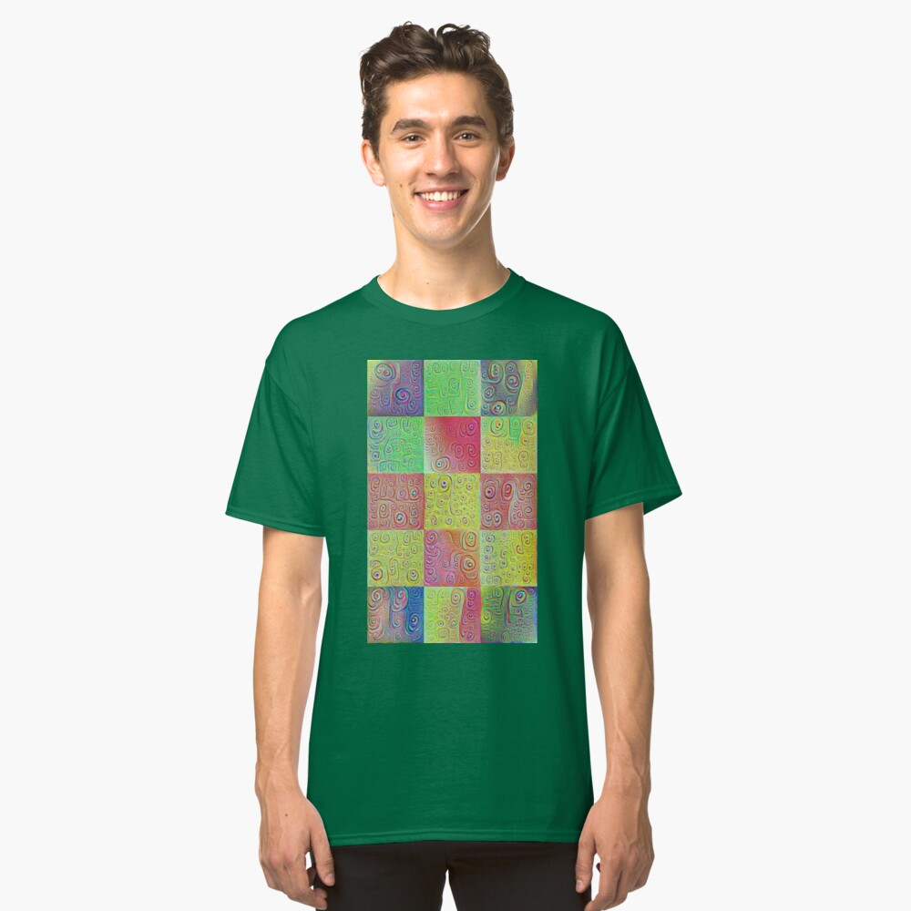 #DeepDreamed factures Classic T-Shirt