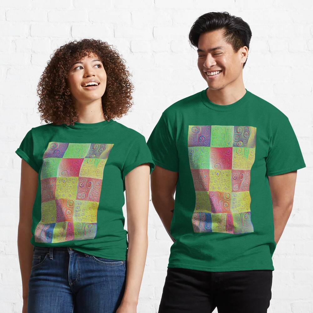 #DeepDreamed factures Classic T-Shirt