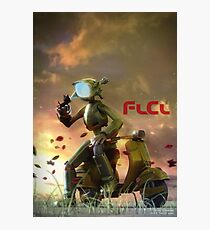 FLCL - Canti and Takkun Photographic Print