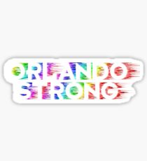 Orlando Strong Shirts, Bumper Stickers & Cups Sticker