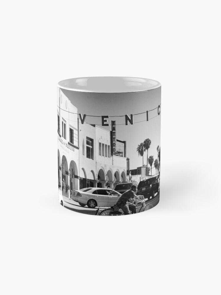 Alternate view of Cruising Pacific Avenue - Venice Beach California USA Mug