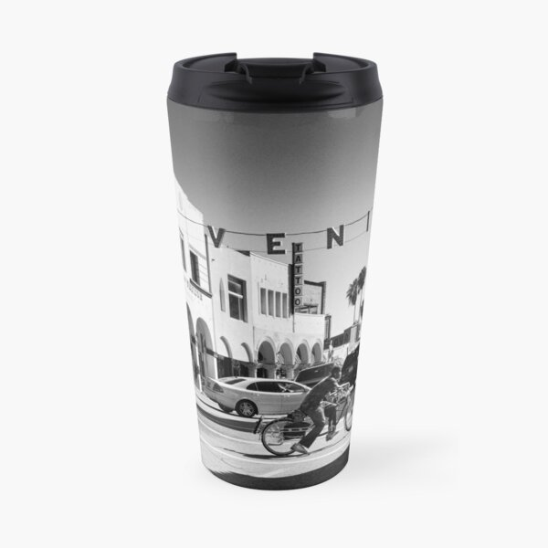 Cruising Pacific Avenue - Venice Beach California USA Travel Mug