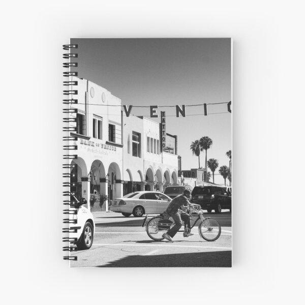 Cruising Pacific Avenue - Venice Beach California USA Spiral Notebook