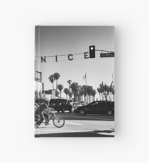 Cruising Pacific Avenue - Venice Beach California USA Hardcover Journal