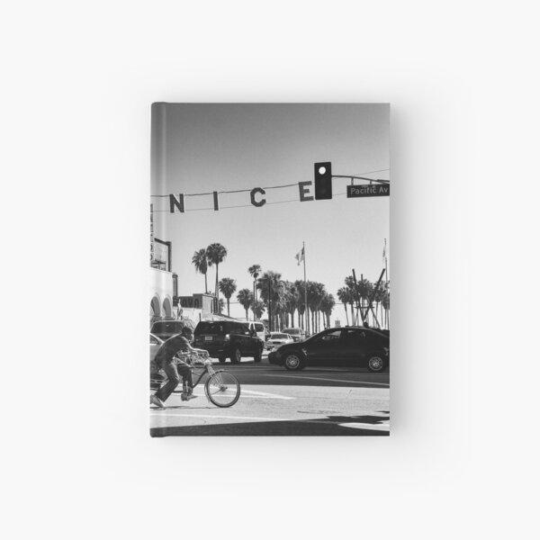 Cruising Pacific Avenue - Venice Beach California USA Hardcover Journal
