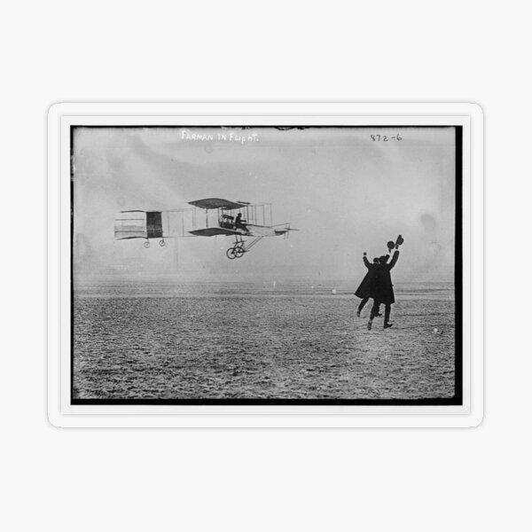 Flying Machine - Air Transportation Transparent Sticker