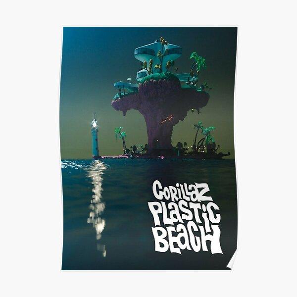 Tendance - Gorilaz Green Place Poster