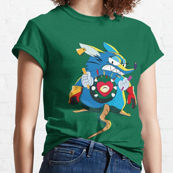 Angry rodent cover Classic T-Shirt