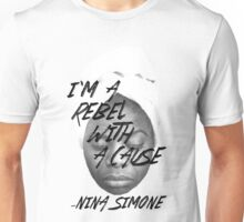 Rebel With a Cause - Face Unisex T-Shirt
