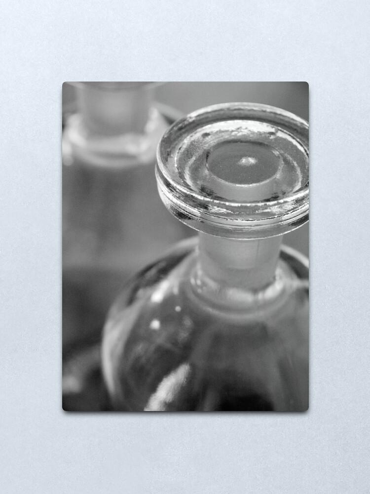 Alternate view of Glass Stopper Metal Print