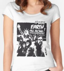 Planet of the Apes  Women's Fitted Scoop T-Shirt