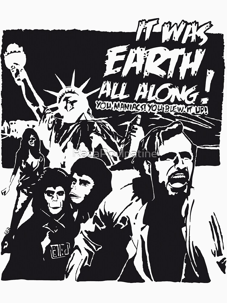 Planet of the Apes  by RazaPoulpatine