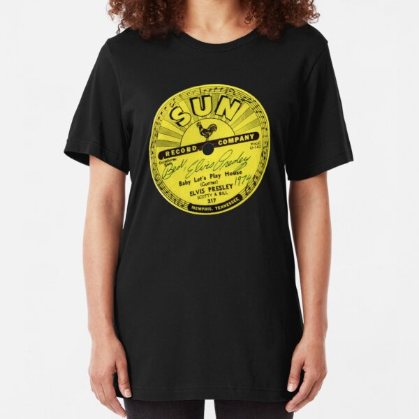 Sun Records Slim Fit T-Shirt