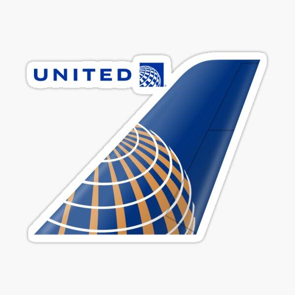 United Logo Sticker