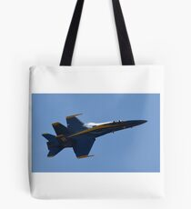 Blue Angel up close  Tote Bag