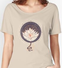 Lotus Women's Relaxed Fit T-Shirt