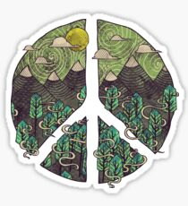 Peaceful Landscape Sticker