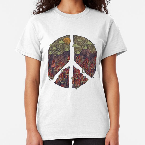 Peaceful Landscape Classic T-Shirt