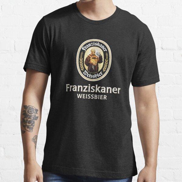 Franziskaner Weissbier Schwarz Essential T-Shirt