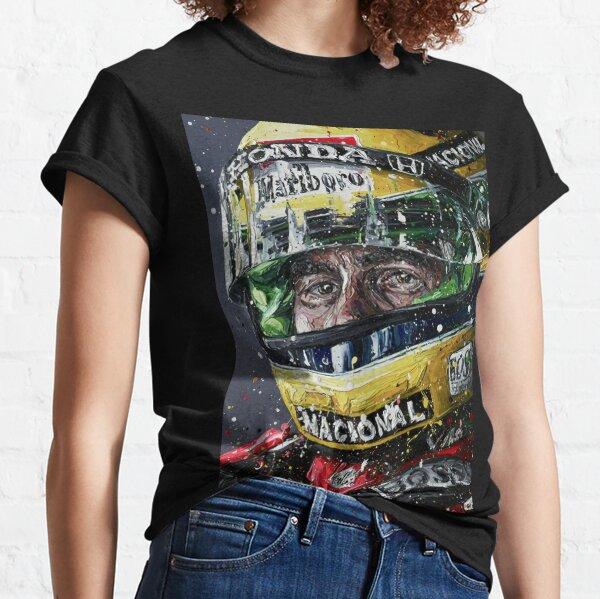 Fond d'écran Ayrton Senna Illustration T-shirt classique