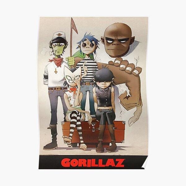 Best - Famille Gorilaz Poster